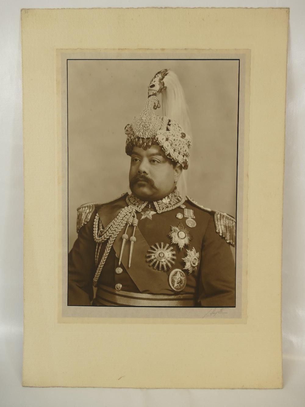 Lot 6 - Nepal - His ex. Sir Bahadur Shumshere Rana Jung C.B.E.