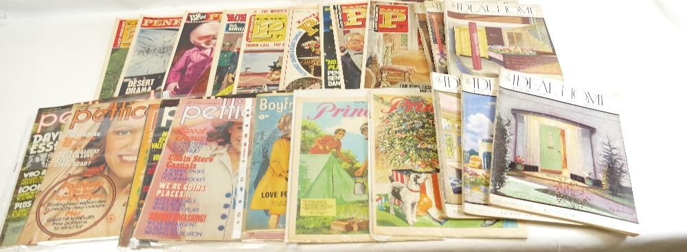 Lot 47 - Lady Penelope 'LADY P' magazine 1966 x 9 together with Ideal Home magazine 1939 x 10,