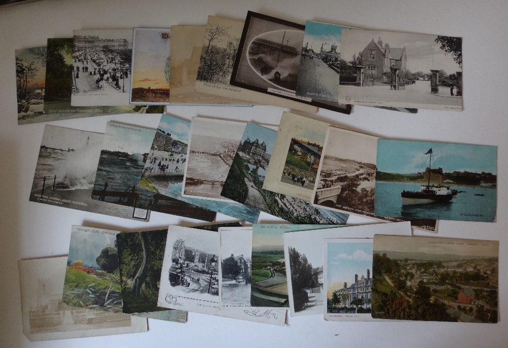 Lot 2 - Postcards X 415 appx.