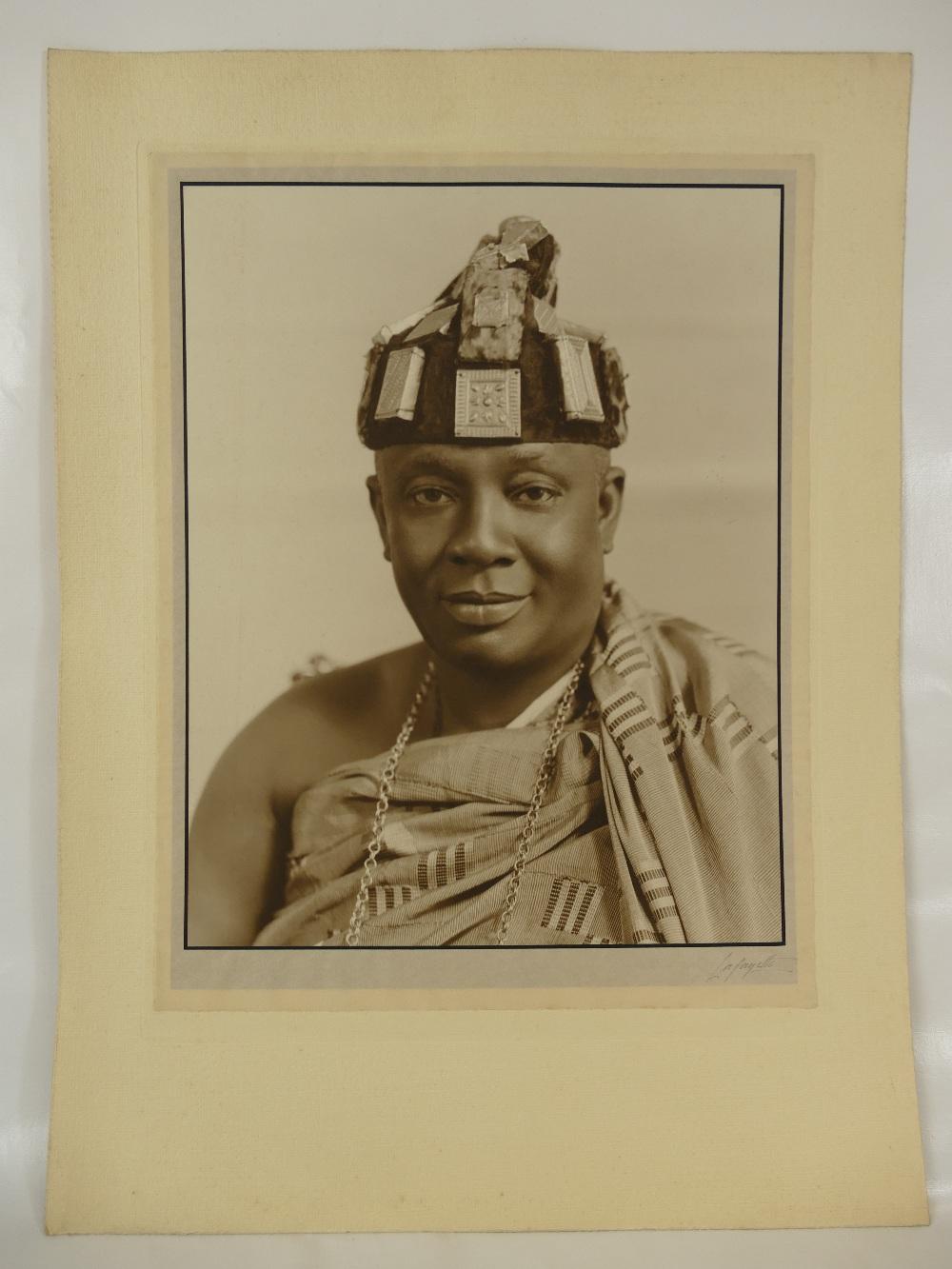 Lot 7 - Nana Sir Ofori Atta (1881-1943), Member of Executive Council of Gold Coast (Ghana).