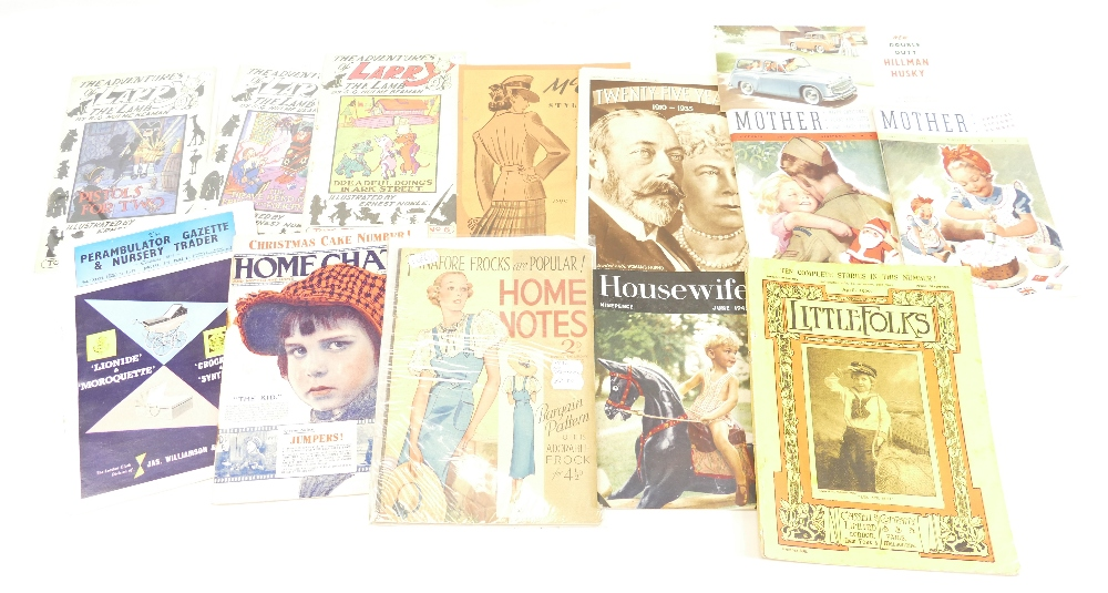 Lot 56 - A collection of BOOKLETS to include - Larry the Lamb c1930's x 3,