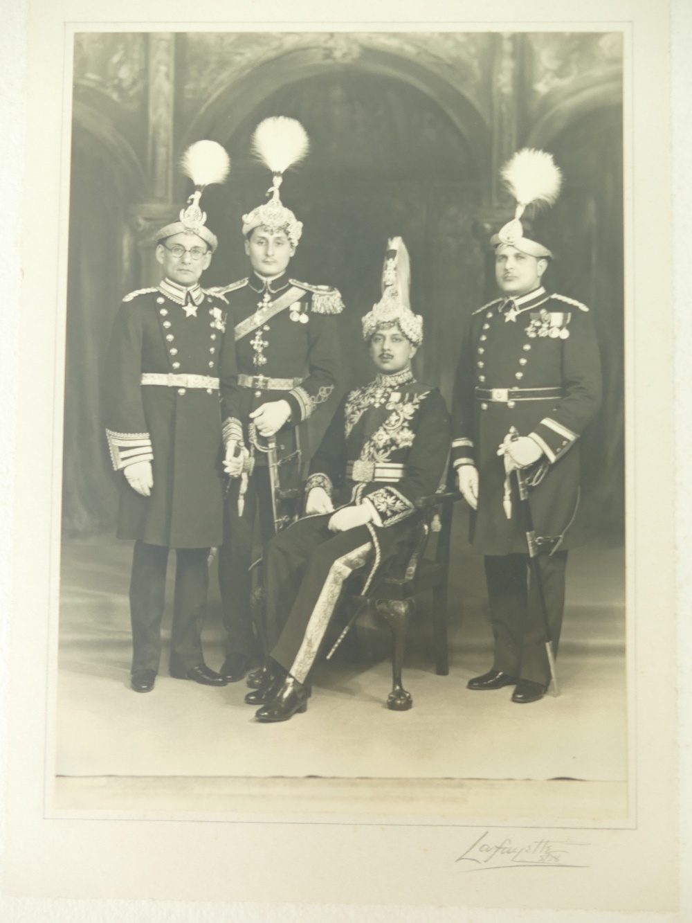 Lot 4 - Nepal - His ex. Lt. General Krishna Shumshere Jung Bahadur Rana K.B.E.
