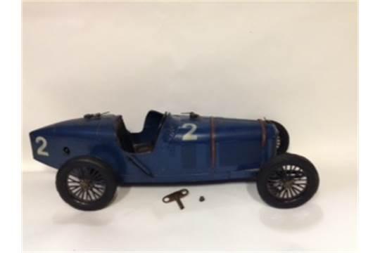 C I J Paris An Early 20th Century Alfa Romeo P2 Tinplate