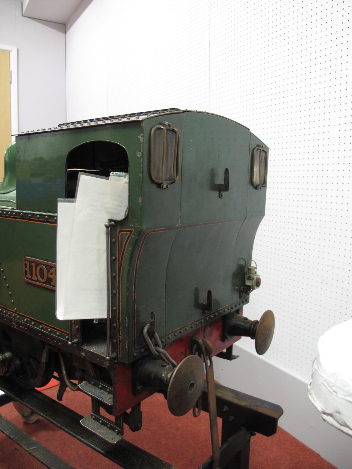 Lot 6 - A 7¼ Inch Gauge 0-4-0 Live Steam 'Midge' Design Locomotive, based on George Gentry design of Swansea