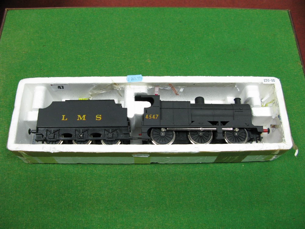 "Lot 47 - A Lima ""0"" Gauge Class 4F 0-6-0 Locomotive and Tender, R/No 4547, LMS Black."