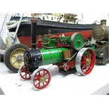 A ¾ Inch Scale Model of a Traction Engine, cylinder ½ inch diameter, 1/8 inch stroke, slip eccentric
