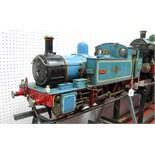 A Five Inch Gauge 0-6-0 'Simplex' Live Steam Locomotive, based on Martin Evans designs, built to a