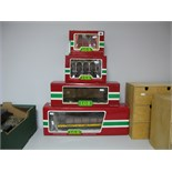 """Four Boxed """"G Scale"""" Rolling Stock Wagons and Cars by L.G.B., including #4024 Open Plank Wagon, #"""