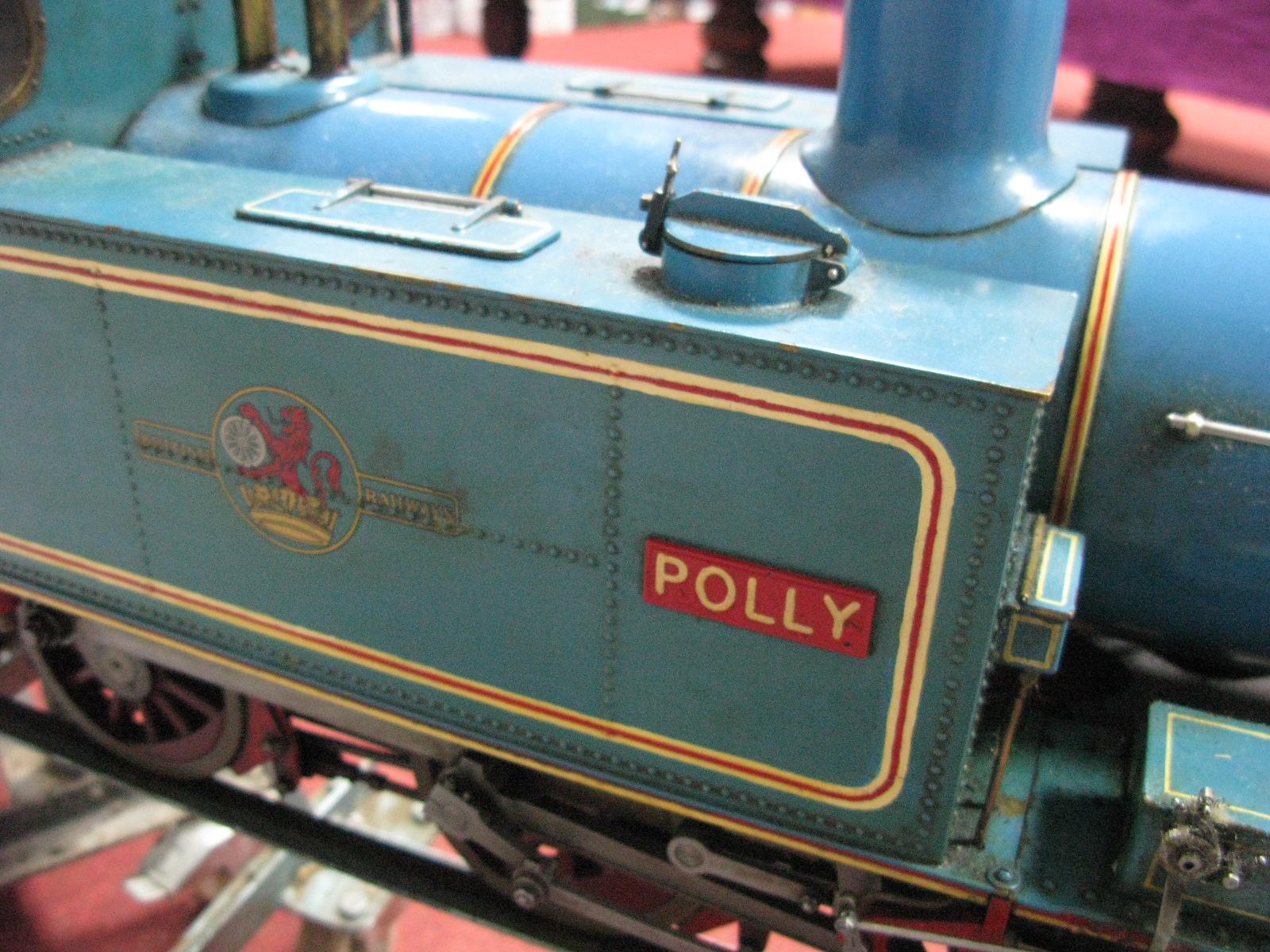 Lot 5 - A Five Inch Gauge 0-6-0 'Simplex' Live Steam Locomotive, based on Martin Evans designs, built to a