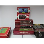 """Five Boxed """"G"""" Scale Rolling Stock, Vans and Wagons by Bachmann, L.G.B., including L.G.B. #42313"""