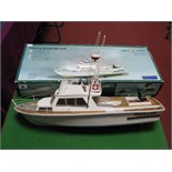 A Kit Built Billing Boats #570 'White Star' Plastic and Wood Construction Motorboat, length 54cm,