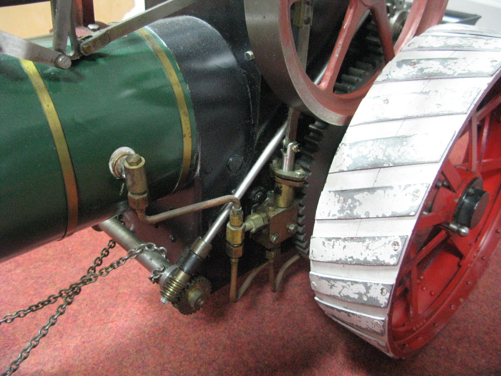 Lot 4 - A Well Built 2 Inch Scale Live Steam Model of a Durham and North Yorkshire Traction Engine, based on