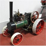 A Well Built 2 Inch Scale Live Steam Model of a Durham and North Yorkshire Traction Engine, based on