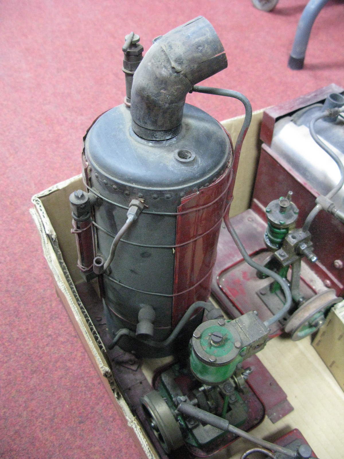Lot 27 - A Quantity of Live Steam Boilers and Engines, sometimes connected, both vertical and horizontal, all