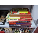 A Large Quantity of 1960's - 1970's Meccano, all playworn, contained in seven various set boxes. All