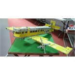 A Large Model Aircraft Constructed With 1970's Meccano, call sign F-Armin.
