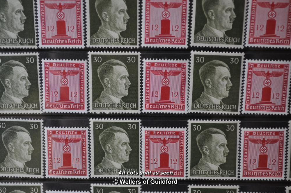Lot 7190 - German Deutches Reich stamps collection, approx 227 stamps in total.
