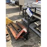 Rolatruc Hand Hydraulic Pallet Truck, lift out charge - £10