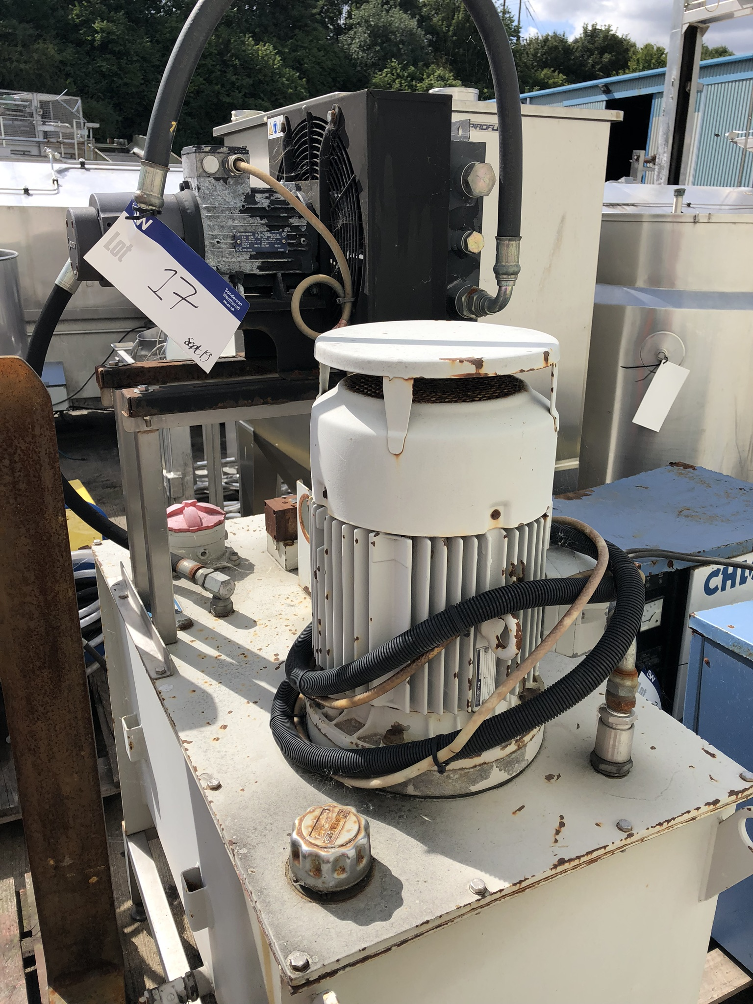 Oiltech QUOTC2/025 Hydraulic Pump, serial no. A1-5-00035-00B, approx. 1m x 0.6m x 1.8m, lift out - Image 2 of 3
