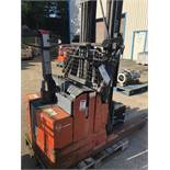 BT LSR 1200/2 1200kg Reach Truck, serial no. 440961AA, year of manufacture 2002, lift out
