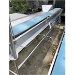 Cougar Conveyor, approx. 3.2m Long x 250mm belt x 0.9m high, lift out charge - £30