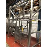 Guttridge 1000KG BULK BAG UNLOADING SYSTEM, with Star Liftket electric chain hoist, lift out