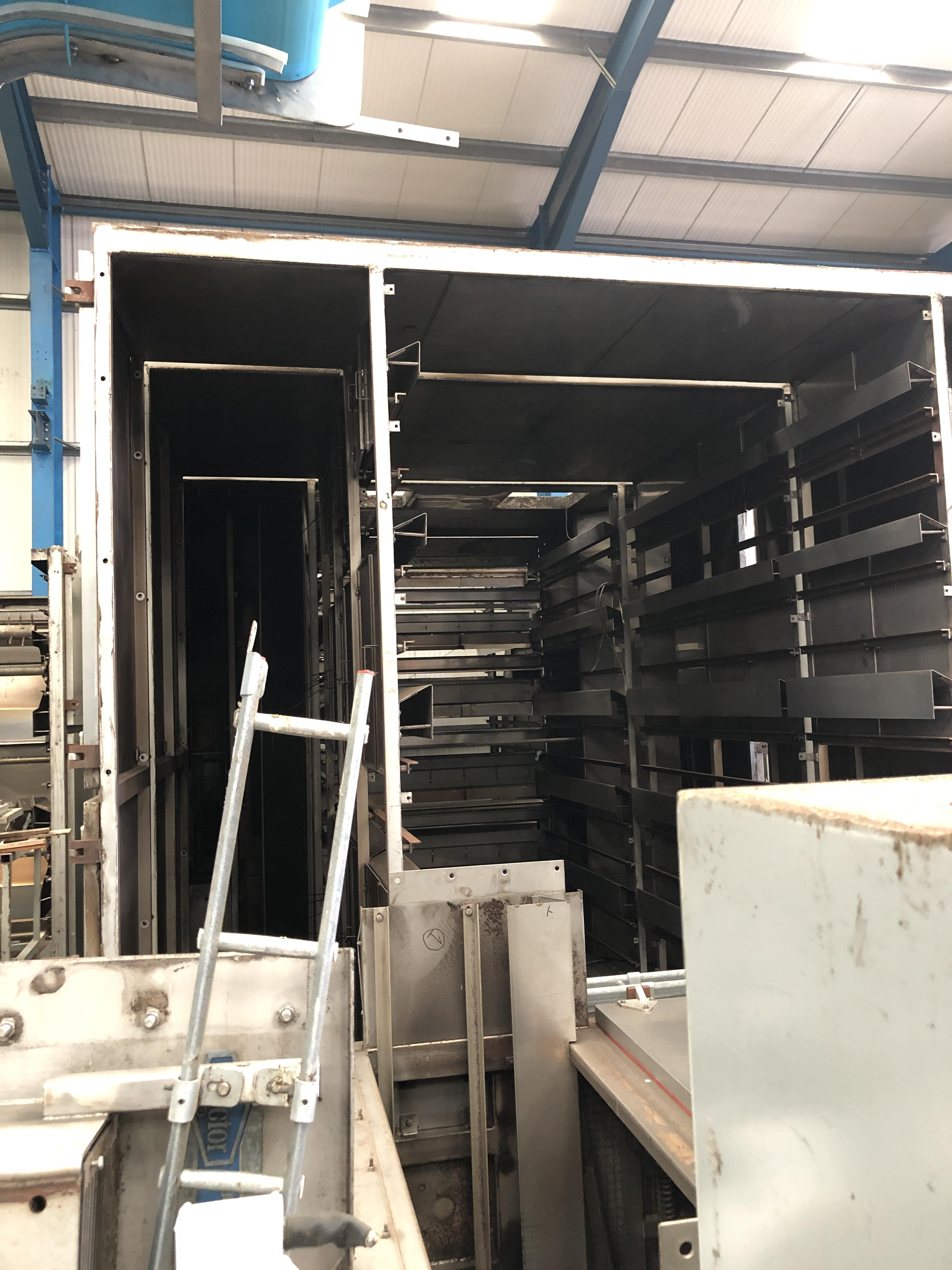 Proctor FIVE PASS GAS FIRED DRYER (dismantled by Blackrow Engineering), approx. 15m long x 5m wide x - Image 7 of 7