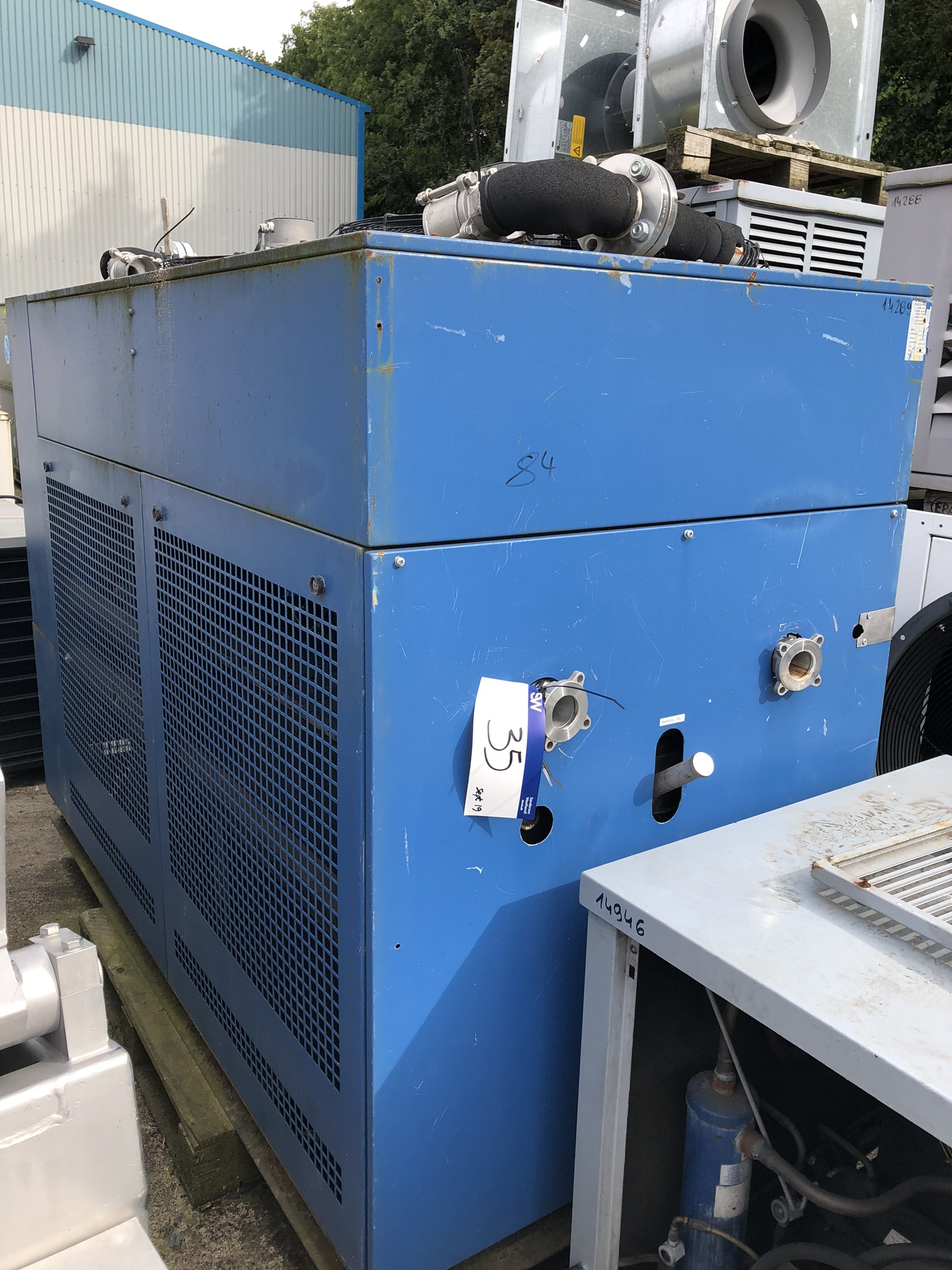 Tricool 99 S2/80 DC WATER COOLER, approx. 2.3m x 1.1m x 1.8m high, lift out charge - £100