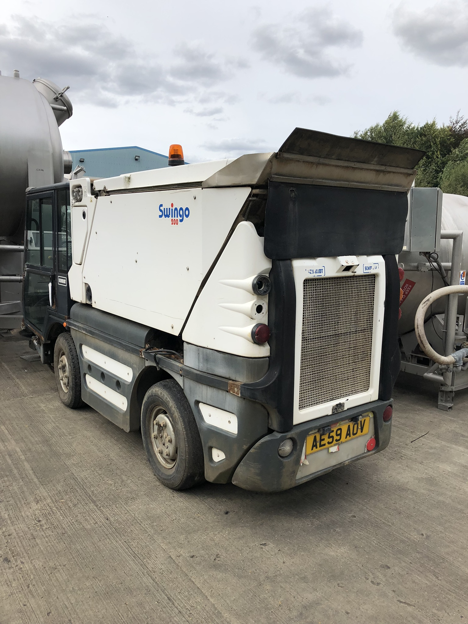 Schmidt Swingo 200 Road Sweeper, registration no. AE59 AOV (understood to require attention - non- - Image 2 of 3