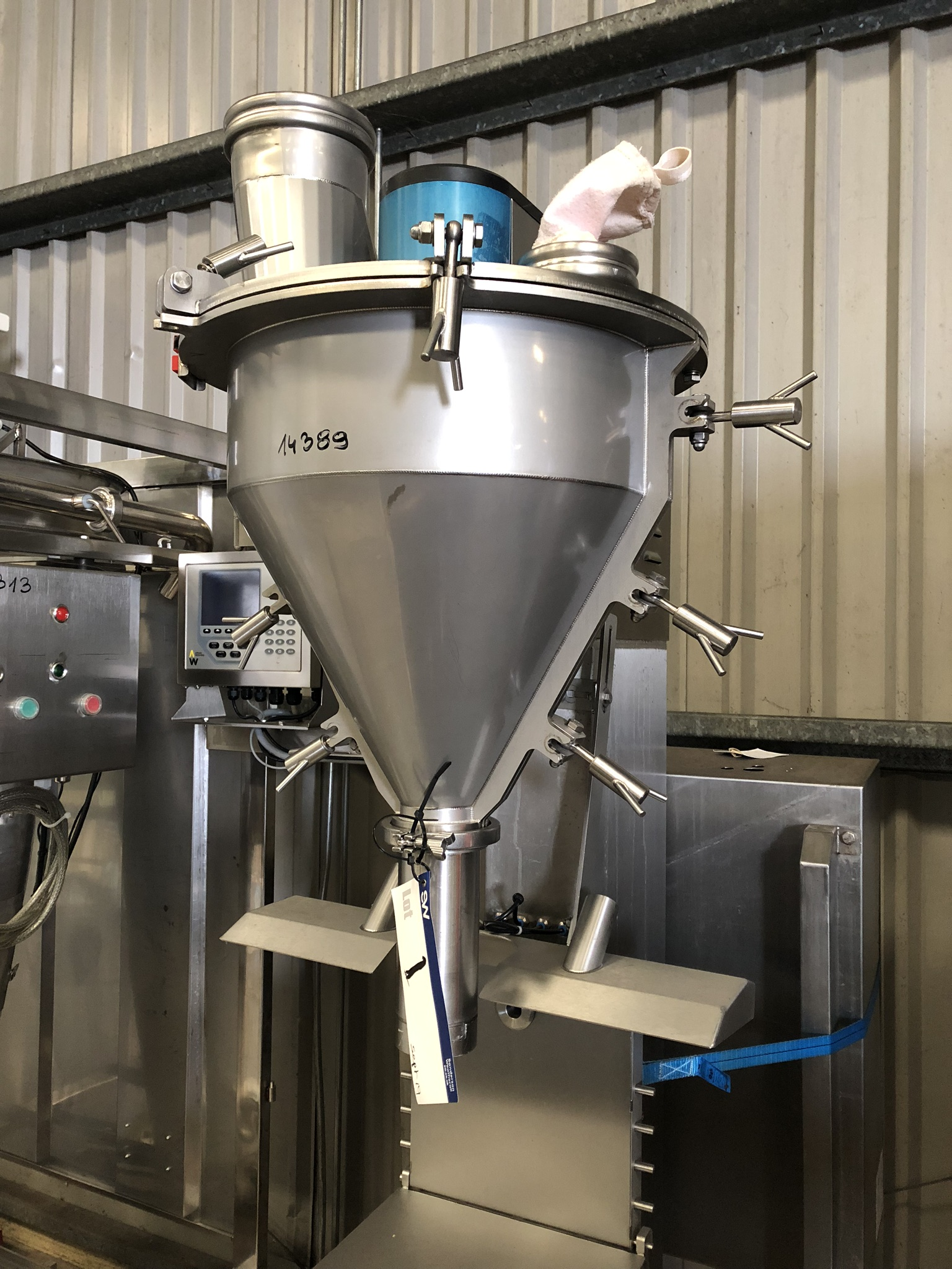 Applied Weighing POWDER FILLER, serial no. 141004, year of manufacture 2014, approx. 2.2m high x - Image 3 of 4
