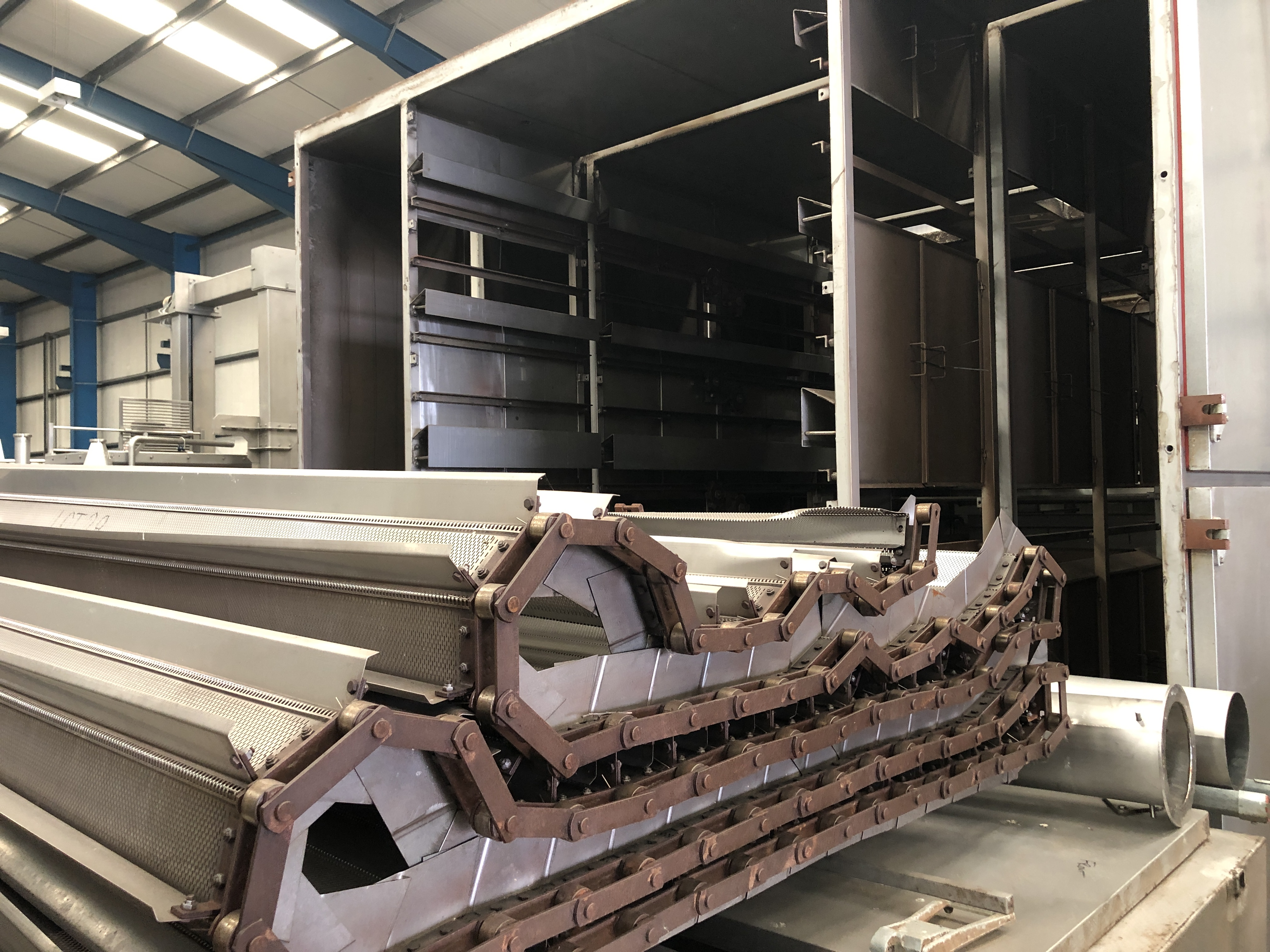Proctor FIVE PASS GAS FIRED DRYER (dismantled by Blackrow Engineering), approx. 15m long x 5m wide x - Image 3 of 7