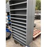 Two Eleven Tier Parts Shelves, 2m x 1m x 0.3m wide, lift out charge - £10