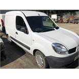 Renault Kangoo SL17 DCI 70 Diesel Car Derived Van, registration no. AP57 LHN, date first