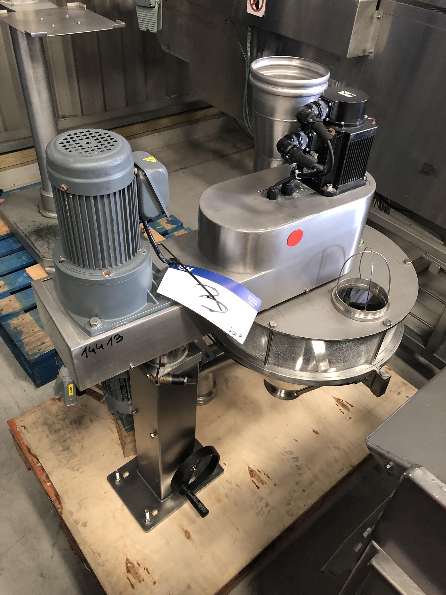 Guttridge PUMP, machine no. 591360-1-1, year of manufacture 2015, with agitator, approx. 1.2m x 1m x