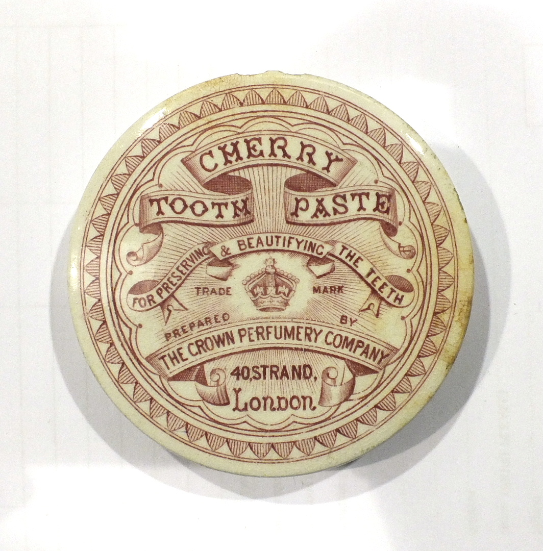 Lot 150 - A 'Boots Cold Cream Cash Chemists' pot lid and twenty-seven similar 19th century advertising pot