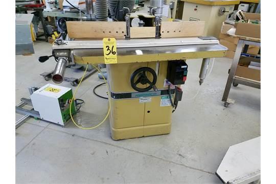 Powermatic Model 27 Shaper, s/n 9627526, 1 1/4 in Spindle, Outboard