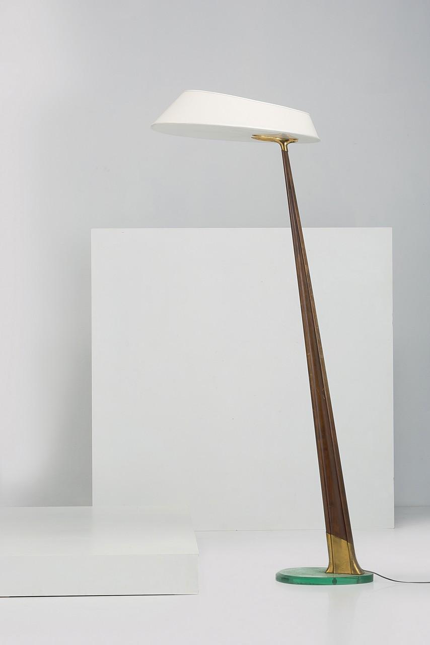 A FLOOR LAMP BY M . INGRAND Lampada da terra, Fontana Arte anni \'50 ...