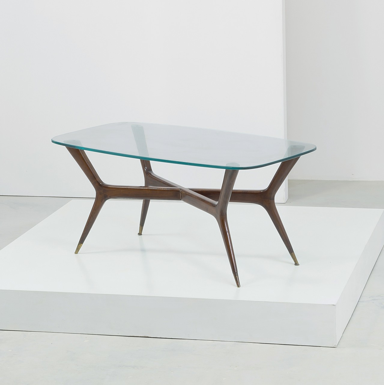A LOW TABLE BY G. PONTI Tavolino da salotto anni '50 ...