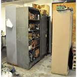 (4) STORAGE CABINETS WITH MACHINE MAINTENANCE CONTENTS