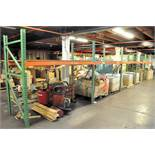 """(5) SECTIONS 8' X 42"""" X 84"""" H PALLET RACKING, (CONTENTS NOT INCLUDED)"""