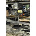 """ROCKWELL/DELTA MDL. 11-100, 11"""" BENCH TOP DRILL PRESS, 9"""" X 8 1/2"""" WORK SURFACE, WITH STAND, S/N:"""