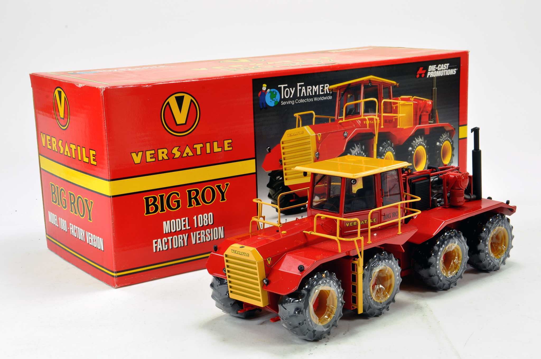 Lot 548 - Diecast Promotions 1/32 Versatile Big Roy Model 1080 Factory Version Tractor. Limited Edition
