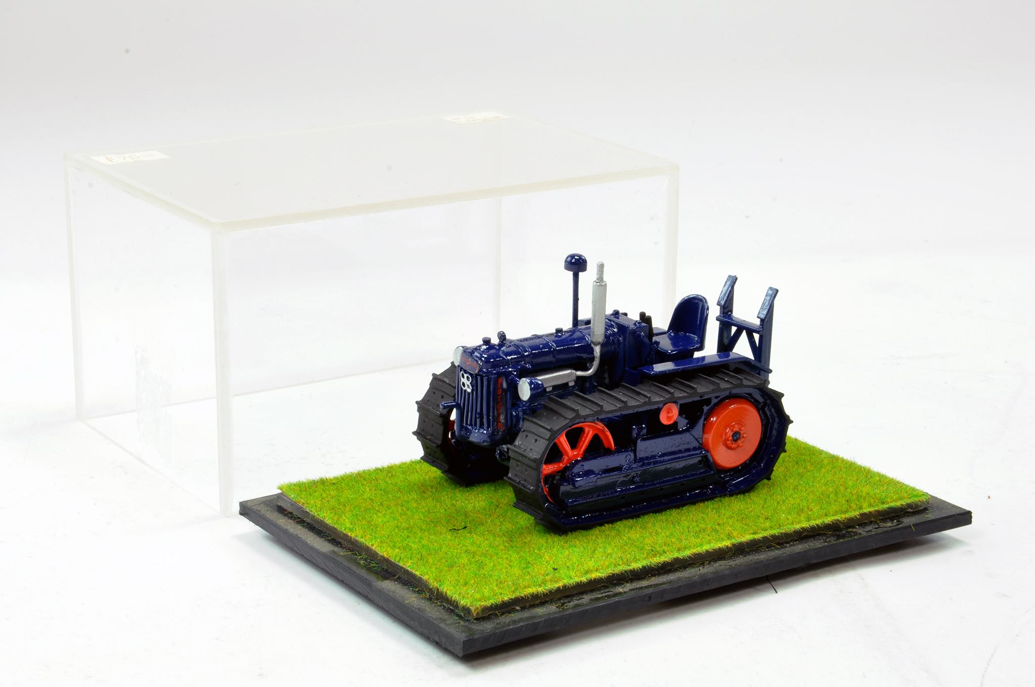 Lot 244 - Scaledown Models 1/32 Hand Built Fordson Major E27N Crawler Tractor. Superb model is generally