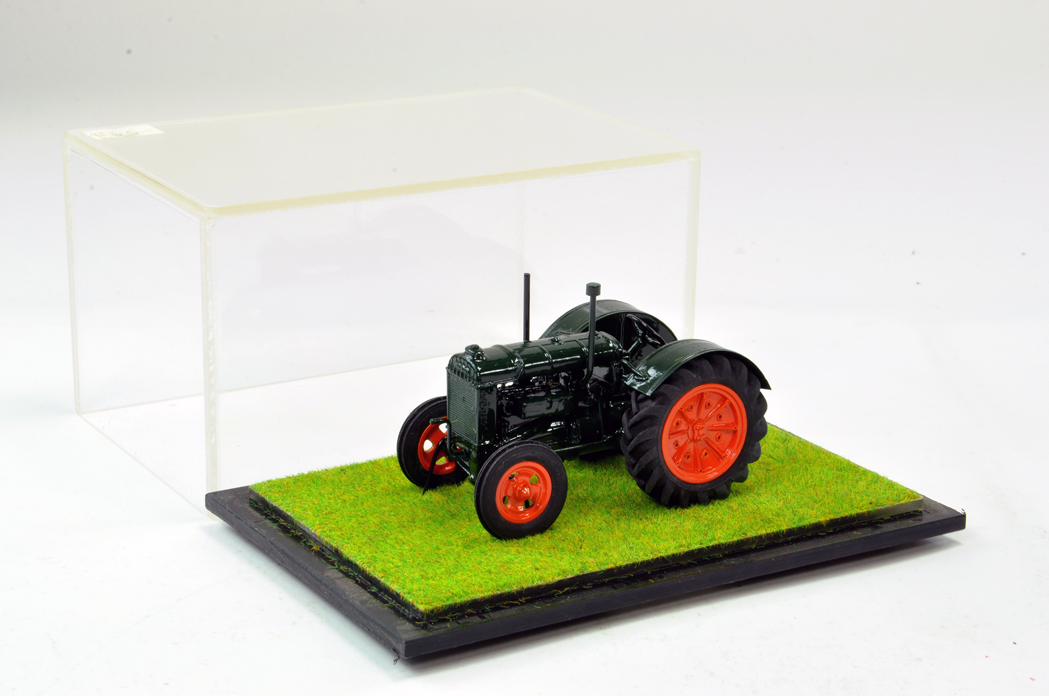 Lot 250 - Scaledown Models 1/32 Hand Built Fordson Standard Tractor. Superb model is generally excellent.
