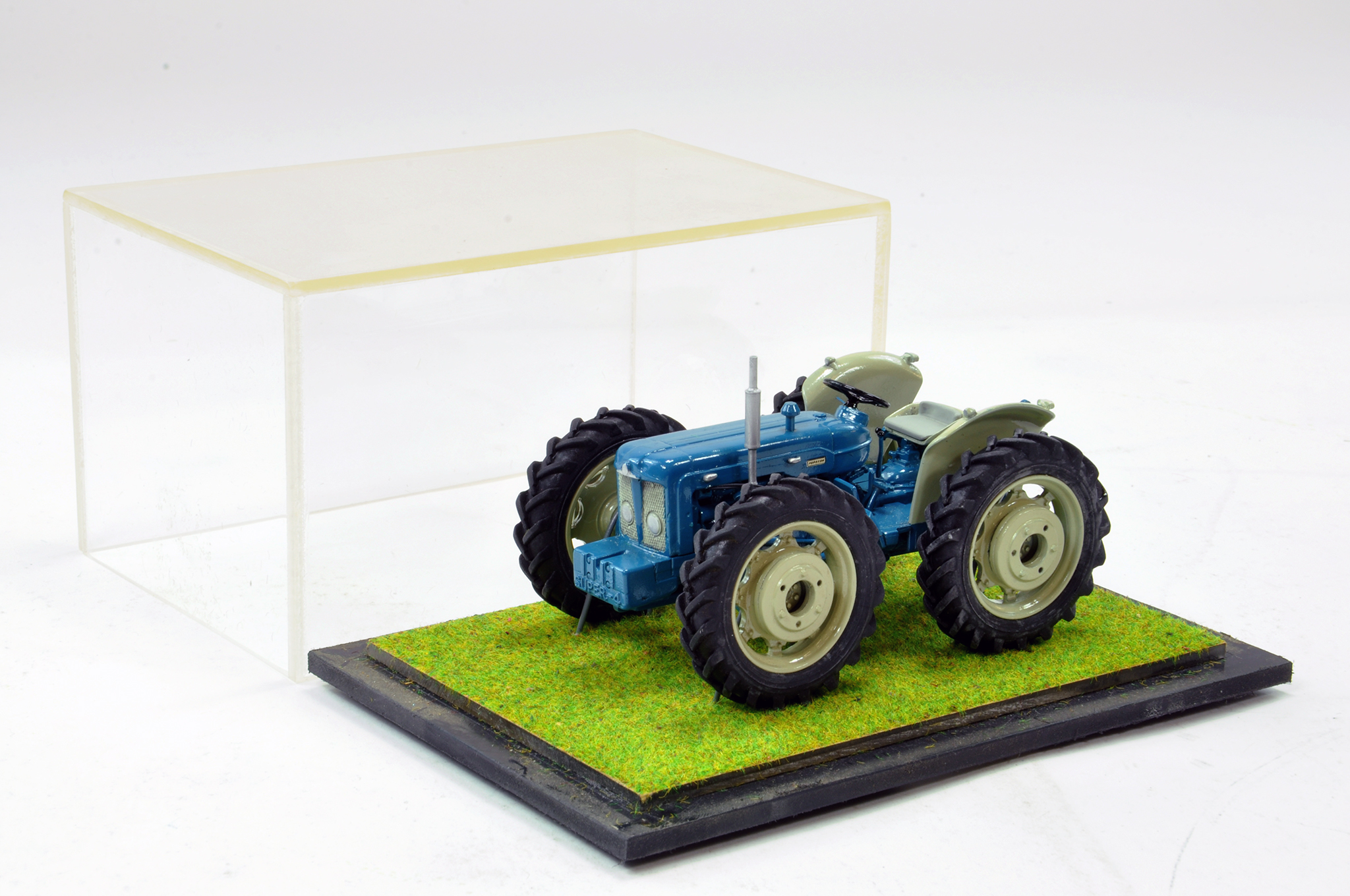 Lot 240 - Scaledown Models 1/32 Hand Built Fordson County Super Four Tractor. Superb model is generally