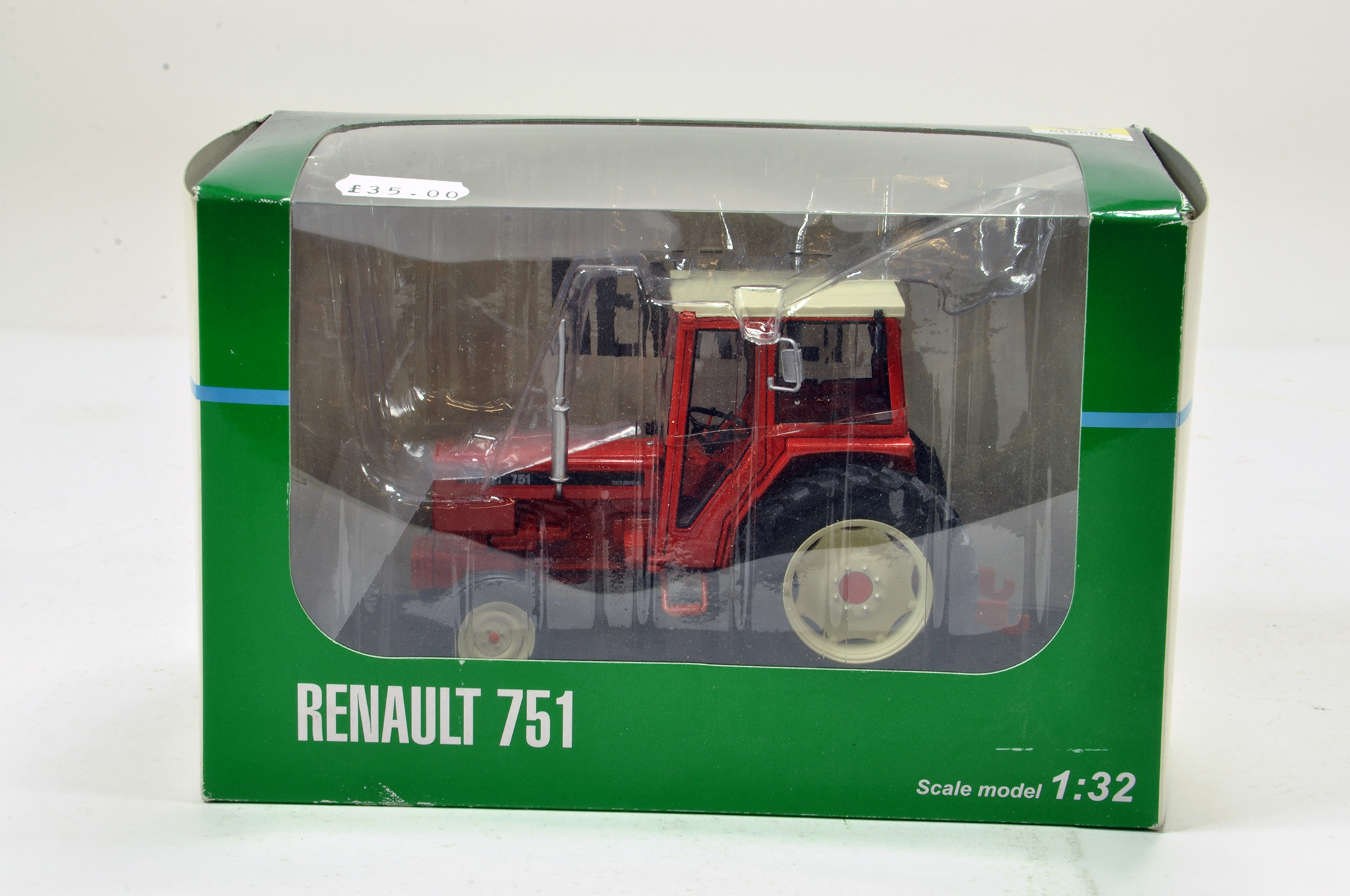 Lot 167 - Replicagri 1/32 Renault 751 Tractor. Generally excellent in box.