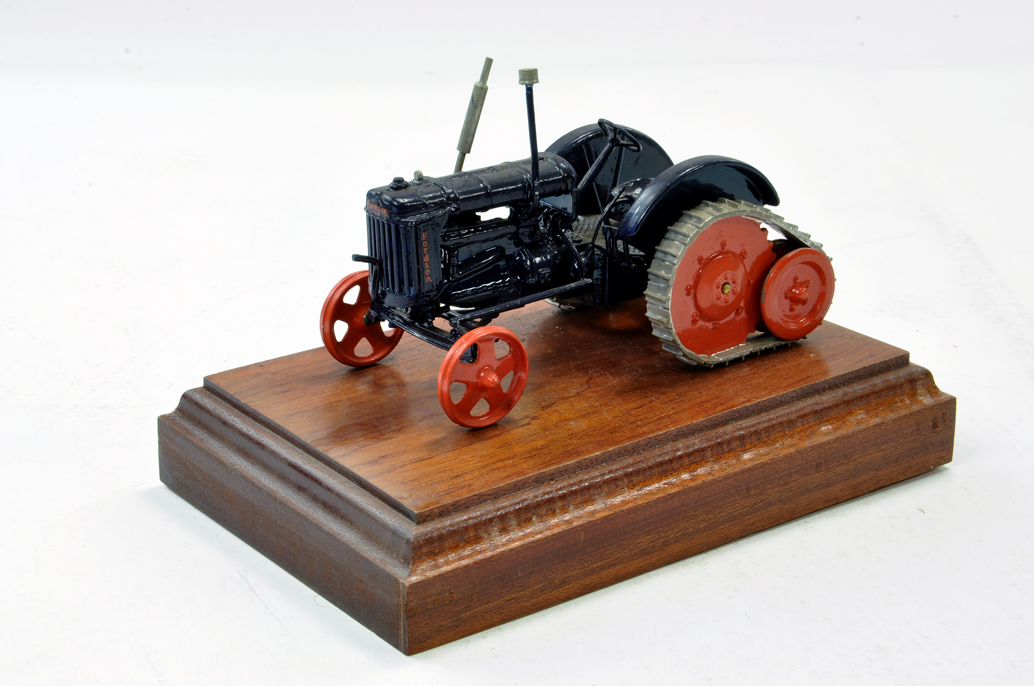 Lot 232 - Scaledown 1/32 Hand Built Fordson Major E27N Roadless Half Trac Tractor. Generally excellent with