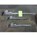 Ridgid Alluminum Pipe Wrenches