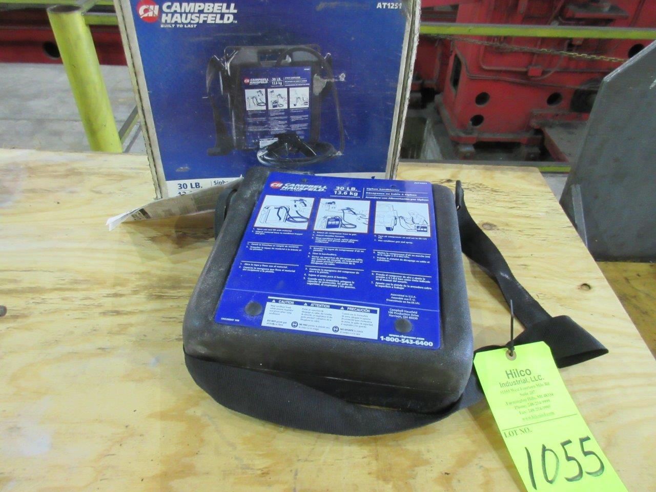 Campbell Hausfeld Model AT1251 Portable Siphon Sand Blaster