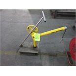 500 lbs. Cap., Moble Sky Hook Lifting Device